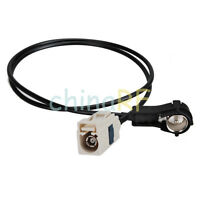 FAKRA B female to DIN-male (or ISO-male) extension cable for car antenna 3m
