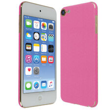 Skinomi Pink Carbon Fiber Skin Cover for Apple iPod Touch [7th Gen, 2019]