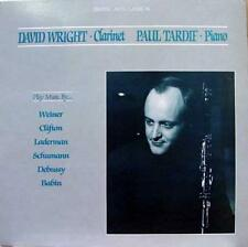 David Wright Paul Tardif - Play Music Weiner Clifton Laderman LP Mint- ME 53084