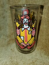 Vintage Ronald McDonald 1970's Collector Series Drinking Glass