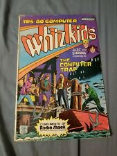 Vintage Whiz Kids Comic The Computer Trap August 1984 Radio Shack
