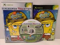SpongeBob SquarePants: Battle for Bikini Bottom (Microsoft Xbox, 2003) CIB