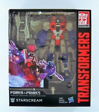 TRANSFORMERS: GENERATIONS POWER OF THE PRIMES VOYAGER CLASS STARSCREAM FIGURE