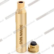 Red Laser Bore Sighter 300 WIN Cartridge Boresighter Brass For Rifle Scope XUXNA