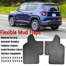 XUKEY Rally Splash Guards For Jeep Mudflaps Mud Flaps Mudguards Front Rear