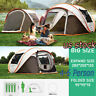 US 4-6 Person Instant Pop-Up Camping Tent Waterproof Automatic Family Shelter