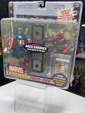 Marvel Legends Toybiz Face Off Captain America vs Red Skull Masked version NIB