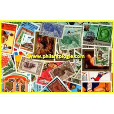 Côte d'Ivoire timbres de collection tous différents.