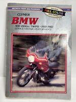 BMW Clymer 500-1000cc Twins 1970-1979 Service Repair Manual M309 Airhead R100