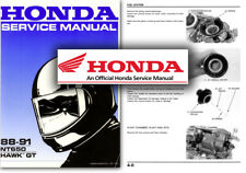 Honda NT650 Hawk GT Bros Service Workshop Repair Shop Manual NT 650 1988 to 1991