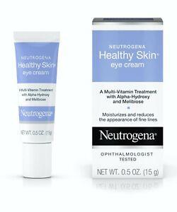 Neutrogena Healthy Skin Anti-Wrinkle Eye Cream, Vitamin A and Vitamin B5.