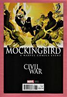 Mockingbird #2 Pasqual Ferry Civil War VARIANT Cover 2016 MARVEL Comics NM-