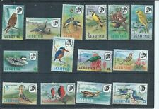 Lesotho stamps. 1981 Birds set MH. Perf 14 1/2 1981 imprint date  (N405)