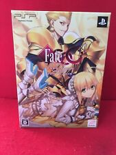 USED PSP Fate / Extra CCC Type Moon Virgin White Limited Box SONY Japan Ver. F/S