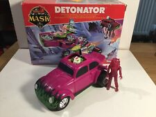 Kenner M.A.S.K. DETONATOR With Both Figures And Masks Within Its Original Box