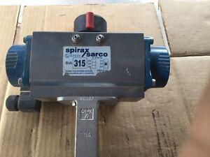 Spirax sarco 90 degree pneumatic actuator bva 315
