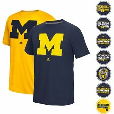 MICHIGAN WOLVERINES ADIDAS NCAA CLIMALITE ULTIMATE PERFORMANCE T-SHIRT MEN'S