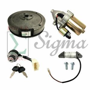 Electric Starter Kit For Harbor Predator 6500 Watt Manual Recoil Start Generator