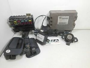Kit Chiave ECU Lancia Y LE 1.2 16V 86CV 63kw 176B9000 2000 46785505 46412170