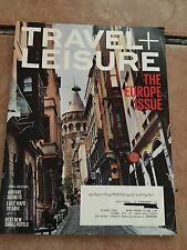 Travel and Leisure Magazine.  The Europe Issue, 164 Pages, May 2014