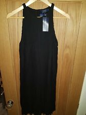 Genuine Polo Ralph Lauren Black Pleated dress M
