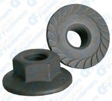 100 M6-1.0 Metric Spin Lock Nuts With Serrations