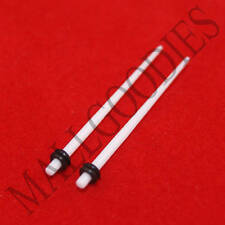 0585 Acrylic White Stretchers Tapers Expanders 14G 14 Gauge 1.6mm MallGoodies