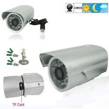 Video Camera DVR Outdoor Internal 24 LED Recording on Micro SD USB Webcam PC