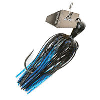 Z-Man Chatterbait Elite 0.5 Oz Long Shank Gamakatsu Hook Black/Blue CB-EL12-03