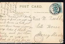Genealogy Postcard- Family History - Needham - Sett House - Stoney Stanton C1040