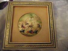 Persian Miniature Art Handmade framed  Painting on shell Euc