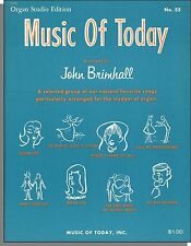 Music of Today #55 - 1964 John Brimhall Organ Songbook! Includes Beatle Songs!