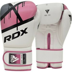 RDX F7 Womens Boxing Training Gloves for Sparring BagWork MittWork Pink 10oz
