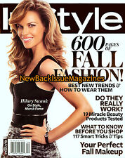InStyle 9/10,Hilary Swank,September 2010,NEW