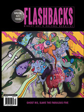 Flashbacks Graffiti Art Magazine Issue #13 Ghost RIS Crew Cover NYC Legend