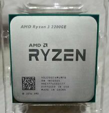 AMD Ryzen R3 2200GE 3.2GHz 4Core 8Threads DDR4 35W Socket AM4 CPU Processors