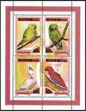 Timbres Oiseaux Perroquets 2953/6 ** année 2000 lot 8852 - cote : 14 €