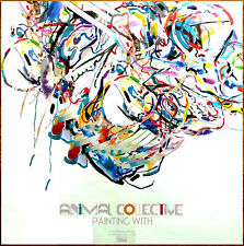 ANIMAL COLLECTIVE Painting With Ltd Ed HUGE Display, Mini Poster + Sticker Lot!