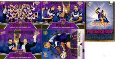 2007 Select NRL Invincible Cards Premiership Predictor Card Set (35 cards)-RARE