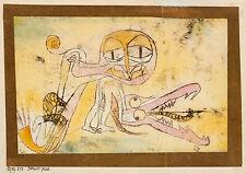Paul Klee Reproduction: Hypocrites - Fine Art Print