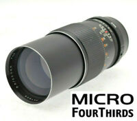 MICRO 4/3 fit 200mm (400mm) PRIME PORTRAIT LENS PANASONIC LUMIX-OLYMPUS PEN M43