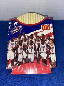 McDonalds Dream Team 2 USA Basketball French Fry Holder *SEALED 12 PACK RARE*