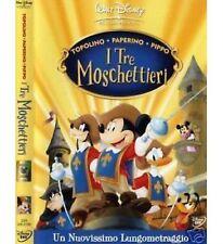 DISNEY DVD Topolino Paperino e Pippo i tre moschettieri