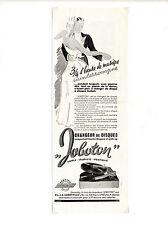 Publicité des années 40 des tournes disques JOBOTON ~ 13x35 cm ~ FRFN134