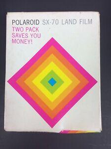 Vintage Polaroid SX – 70 Instant Film 20 Count Expires 10 / 80