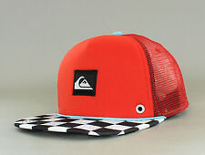 New Men's Quiksilver Boardies Trucker Hat Adjustable Snapback Ball Surf Skate Rd