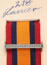 QSA QUEENS SOUTH AFRICA MEDAL RIBBON BAR CLASP ORANGE FREE STATE BOER WAR