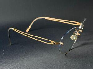 Lindberg Spirit Titanium T602 womens rimless glasses lightweight eyewear frames