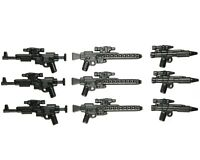 LEGO Star Wars Guns Lot of 9 Blaster Rebel Trooper Guns Storm Clone Weapon Pack