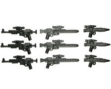LEGO Star Wars Guns Lot of 9 Blaster Rebel Trooper Guns Storm Clone Weapon Pack